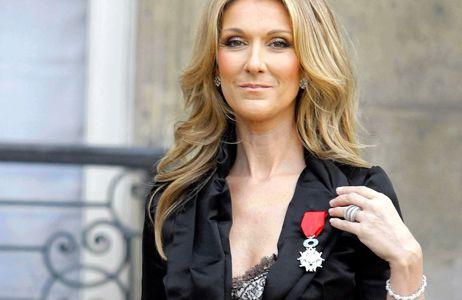 Céline Dion reçoit la Légion d'Honneur en mai 2008
