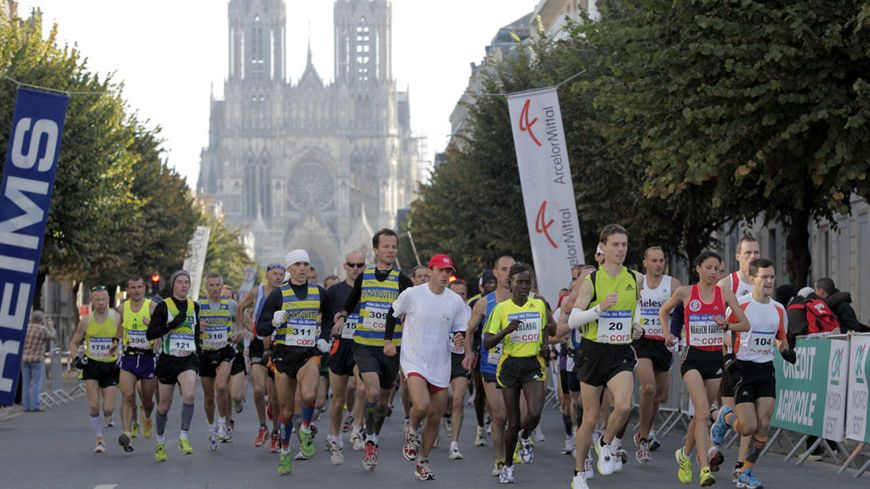 Le marathon de Reims - édition 2012