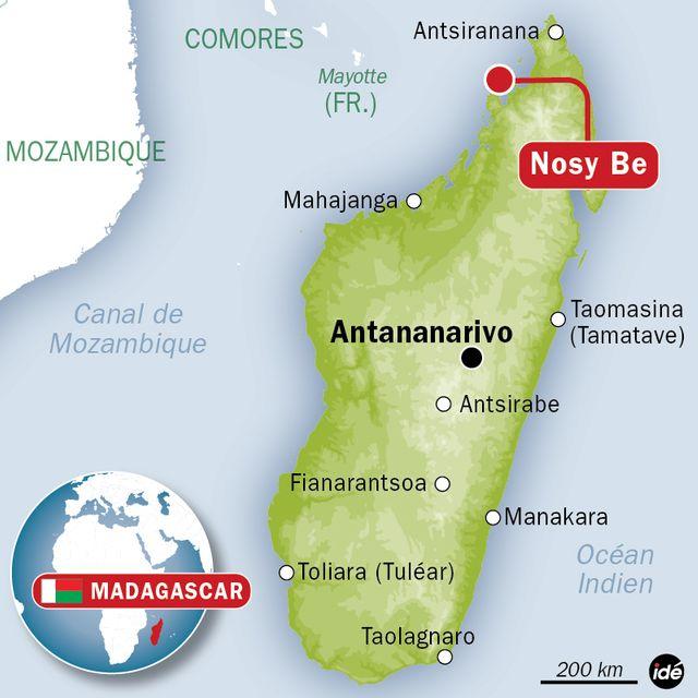 Deux Français tués à Madagascar