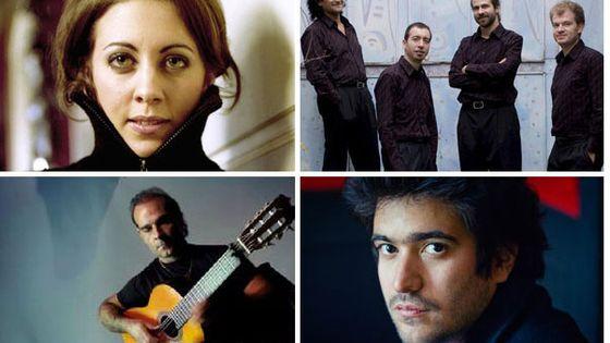 Un mardi idéal - Marina Chiche - Florent Boffard - Quatuor Caliente - Juan Carmona - Harold Lopez