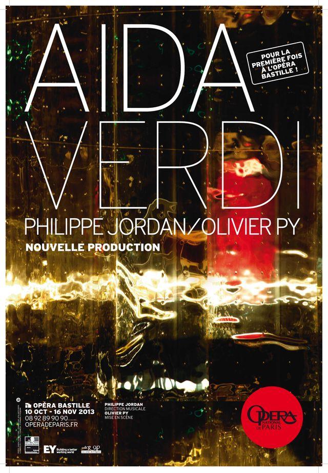 AIDA à l'Opéra Bastille  2013