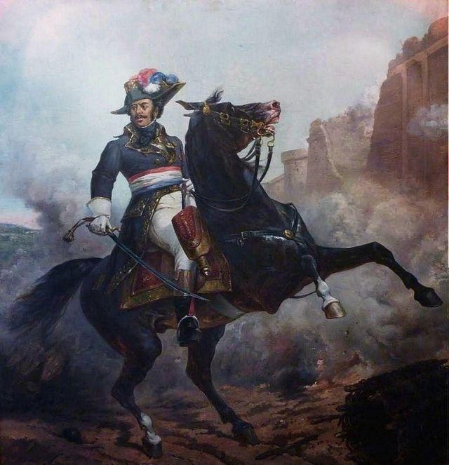 Portrait du Général Alexandre Davy Dumas de la Pailleterie