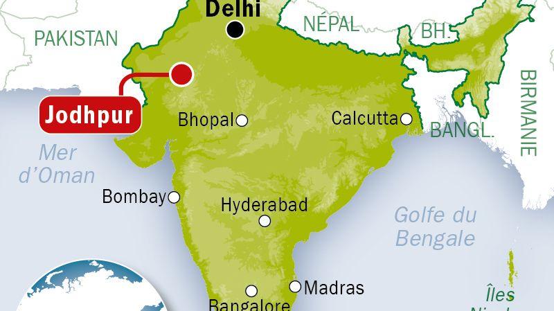 Inde : 34 touristes français blessés, dont 4 sérieusement, dans un accident de car