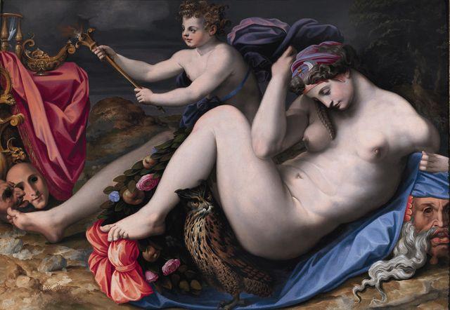Renaissance Allégorie de la Nuit