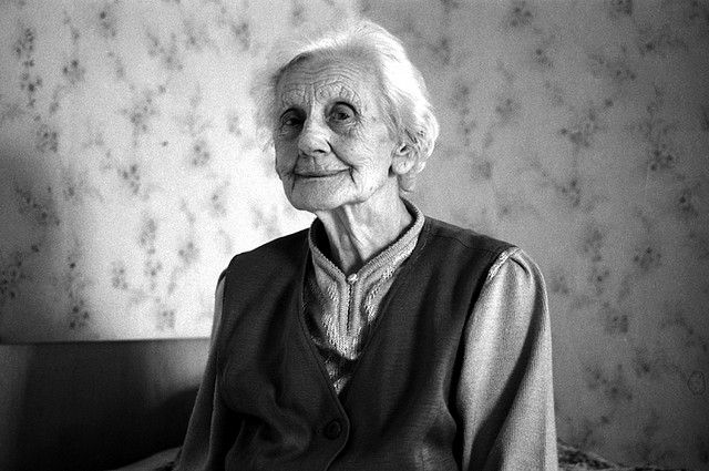 Last station nursing home. Helene Zeiger