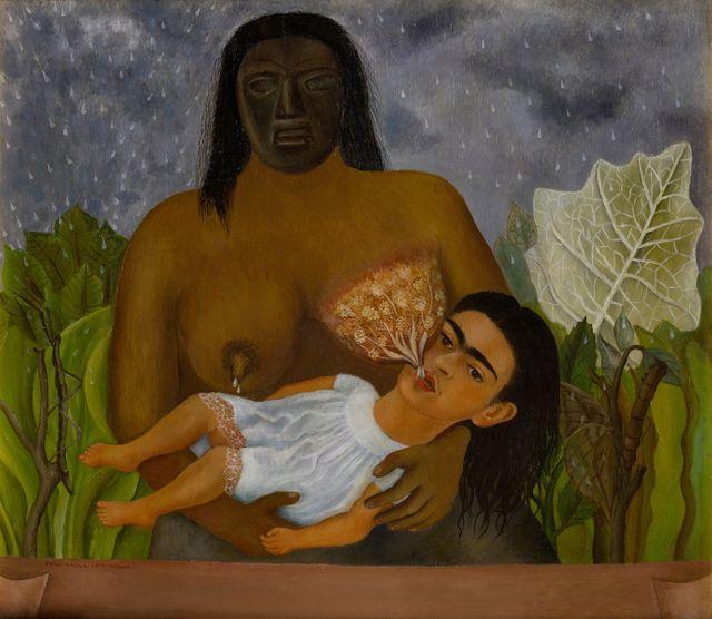 Frida Kahlo ma nourrice et moi