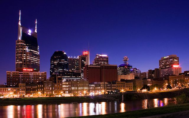 Skyline of Nashville