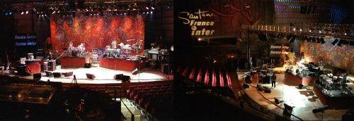 Studio 104 en 2000 pour Santana