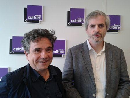 Bernard Sasia et Christophe Kantcheff