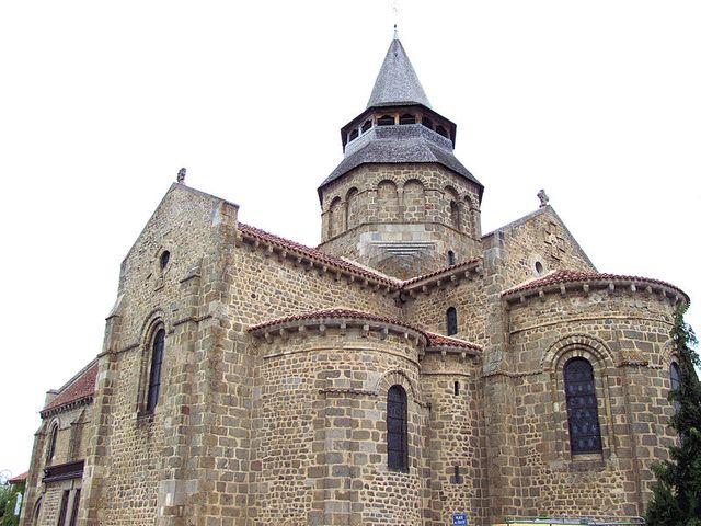 Huriel (Allier) - Église Notre-Dame - Chevet