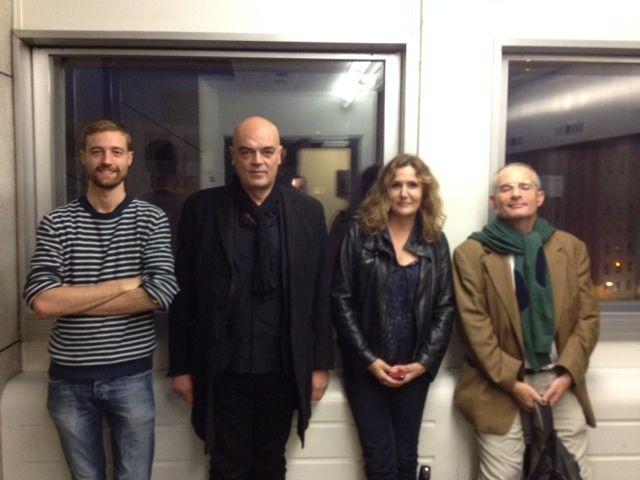 Frédéric Says, Rémy Ourdan, Isabelle Veyrat-Masson, Vincent Jaubert