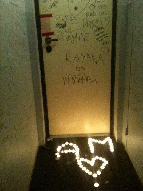 La porte d'entrée de l'appartement où s'est noué le drame