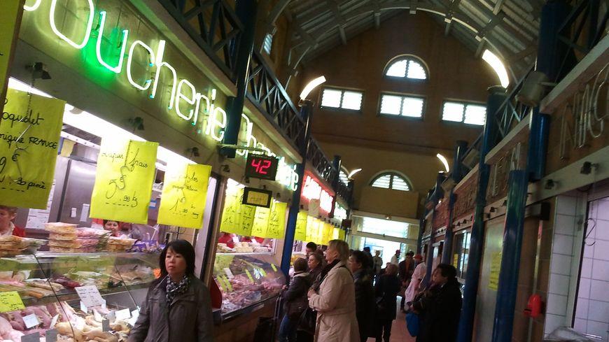 Le marché couvert de Metz, en octobre 2013