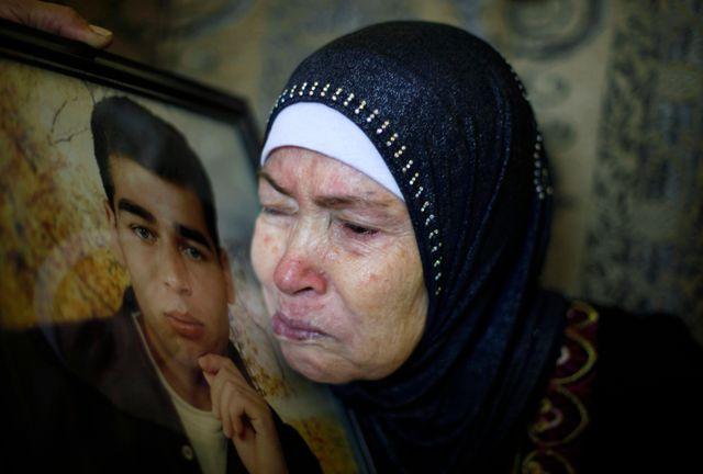 La mère d'Hazem Shobair, libéré lundi soir