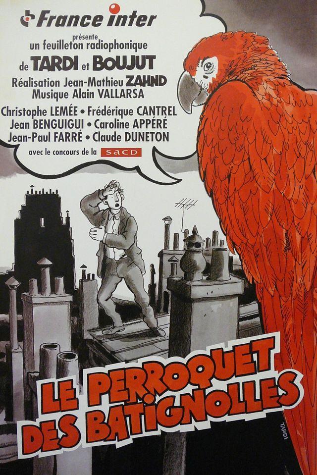 affiche Perroquet des Batignolles 1997