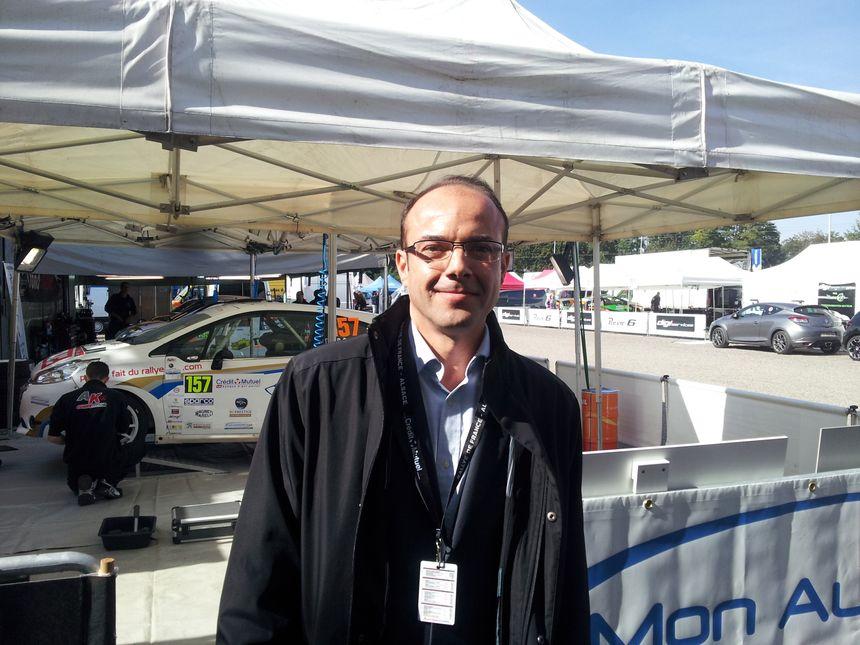 """Rémi Rodriguez, président de """"Mon automobile club"""" et de France Alsace Events"""