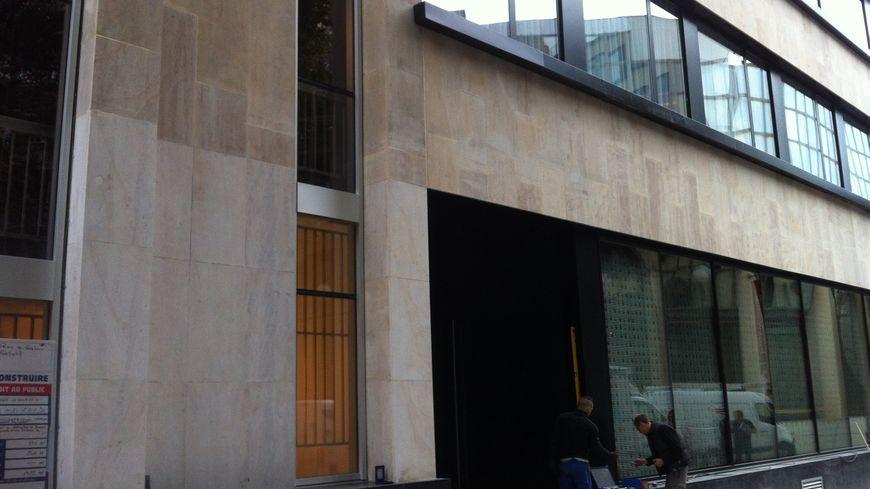 La façade du Mama Shelter à Bordeaux