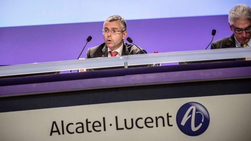 Michel Combes, le directeur général d'Alcatel-Lucent