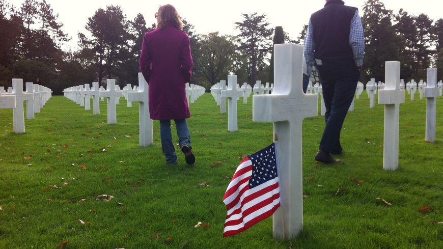 Le cimetière américain de Colleville-sur-Mer a retrouvé ses visiteurs.