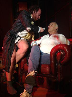 Michel Fugain dans le fauteuil de M. Préviously