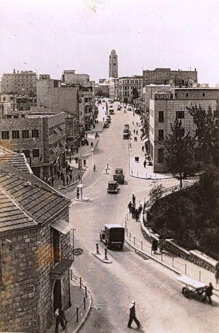 Julian's Way à Jérusalem dans les années 40