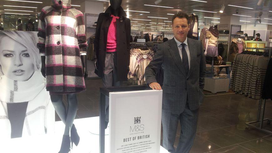 Jan Heere, Directeur International de Marks and Spencer