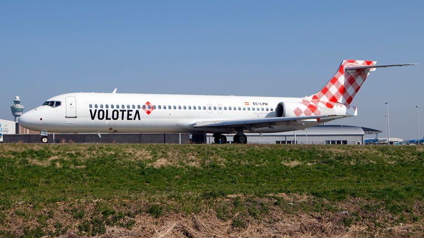 Un avion de la compagnie Volotea.