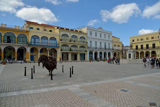 La place vieille à La Havane