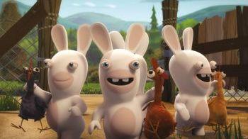 lapins crétins france3