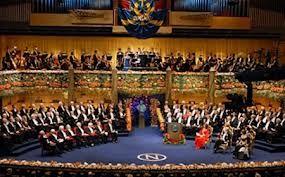 Nobel, cérémonie de remise des prix à Stockholm