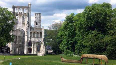 Normandie Impressionniste Abbaye Jumièges