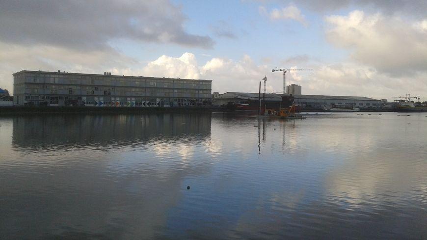 Le secteur des Bassins à Flots, à Bordeaux