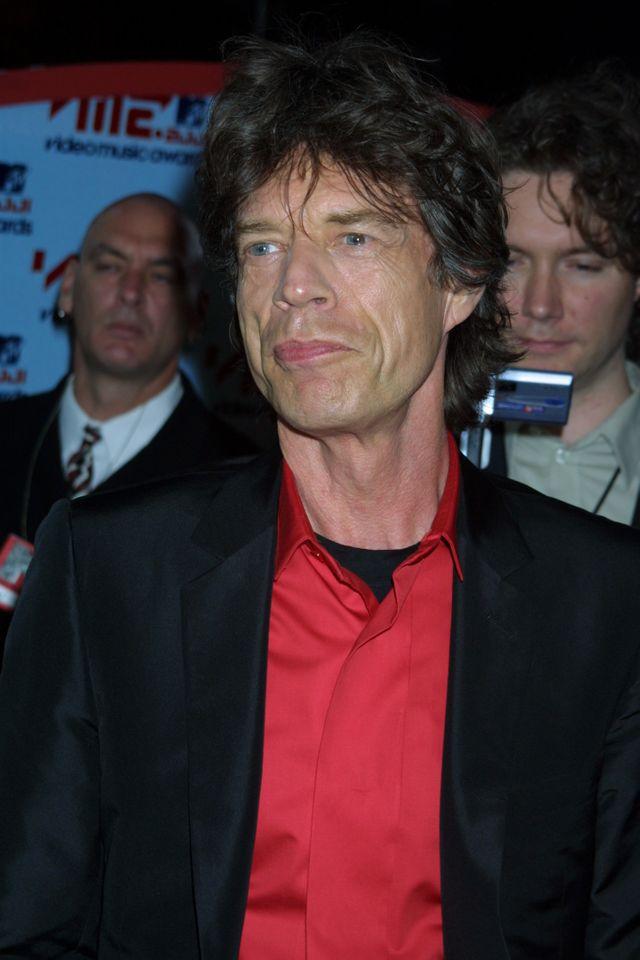 Mick Jagger en 2001