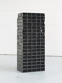 Mona Hatoum Bourj II, 2011 Série : « Bunker » Tuyaux en acier doux