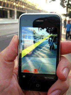 Application de réalité augmentée sur iPhone