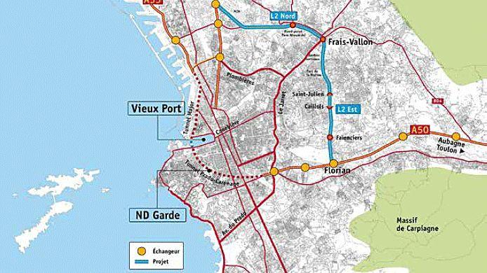 Projet global L2 rocade Marseille