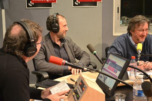 Alex Dutilh, Nicolas Moreaux, Arnaud Merlin © Emmanuelle Lacaze