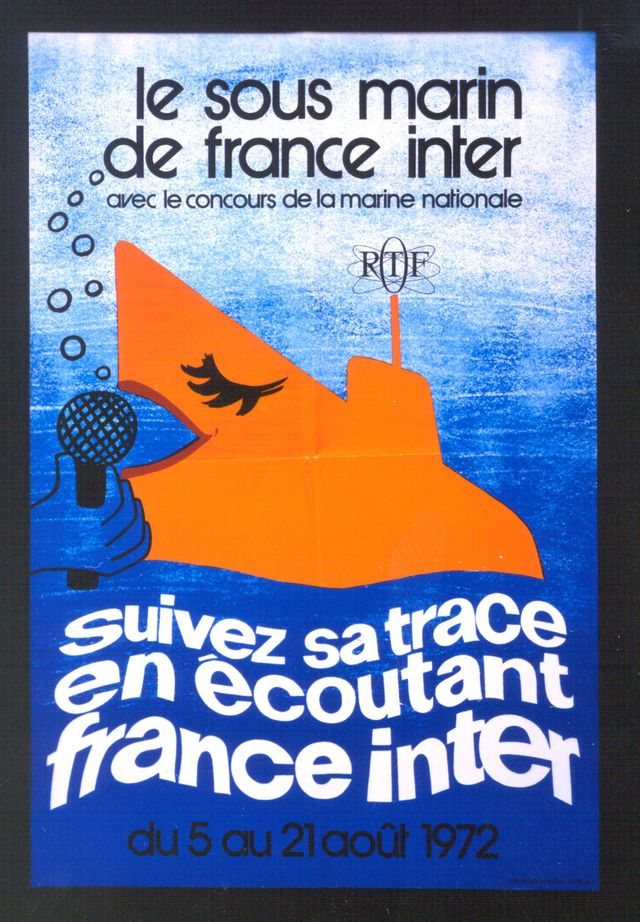 1972 le sous-marin de France Inter
