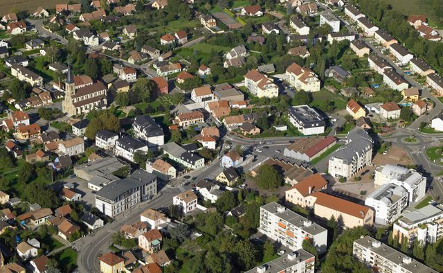 Kingersheim (Haut-Rhin) - Centre ville