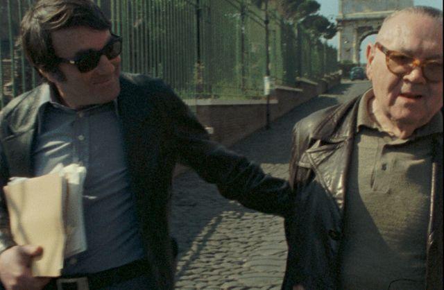 Claude Lanzmann et Benjamin Murmelstein en 1975