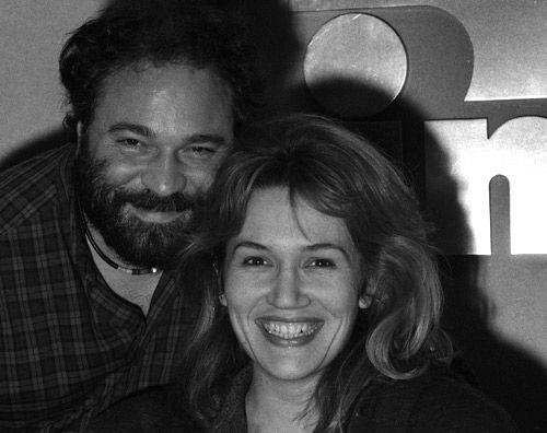 Julien Delli Fiori et Clémentine Célarié