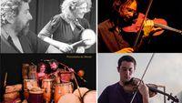 A l'improviste avec le Quartet Mirtha Pozzi et Pablo Cueco, Cyprien Busolini et Frantz Loriot