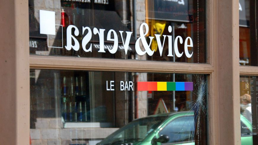 Le Vice & Versa, un bar homosexuel de Lille