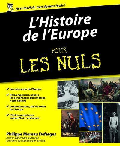 L'histoire de l'Europe pour les nuls
