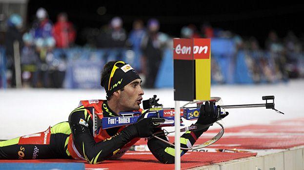 Le biathlète Martin Fourcade est une des chances de médaille française à Sotchi
