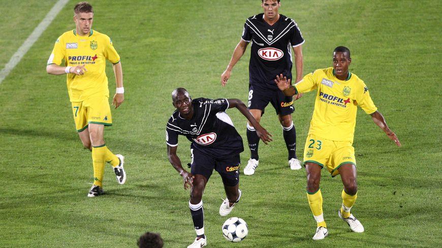 Retour en août 2008, pour un match à Chaban-Delmas, ici Alou Diarra et Ricardo Faty.