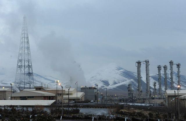 Le réacteur à eau lourde d'Arak, à environ 240 km au sud-ouest de Téhéranau sud-ouest de Téhéran Janvier
