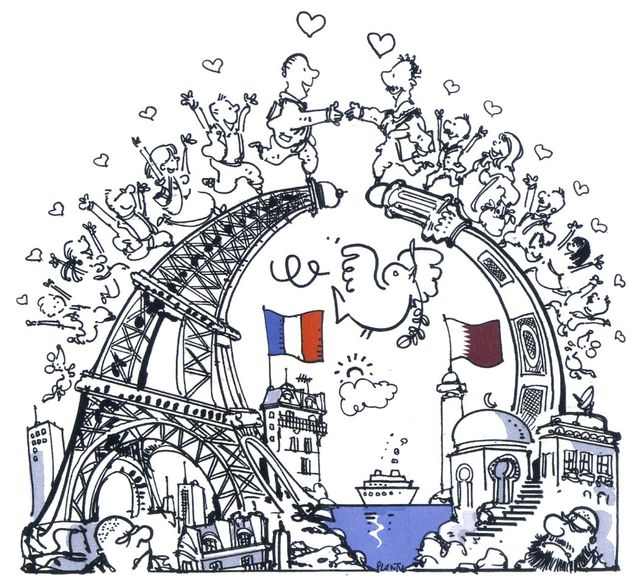 """""""Qatar - France, une décennie de diplomatie culturelle, 2003-2013"""", aux éd. Michel LAFON"""