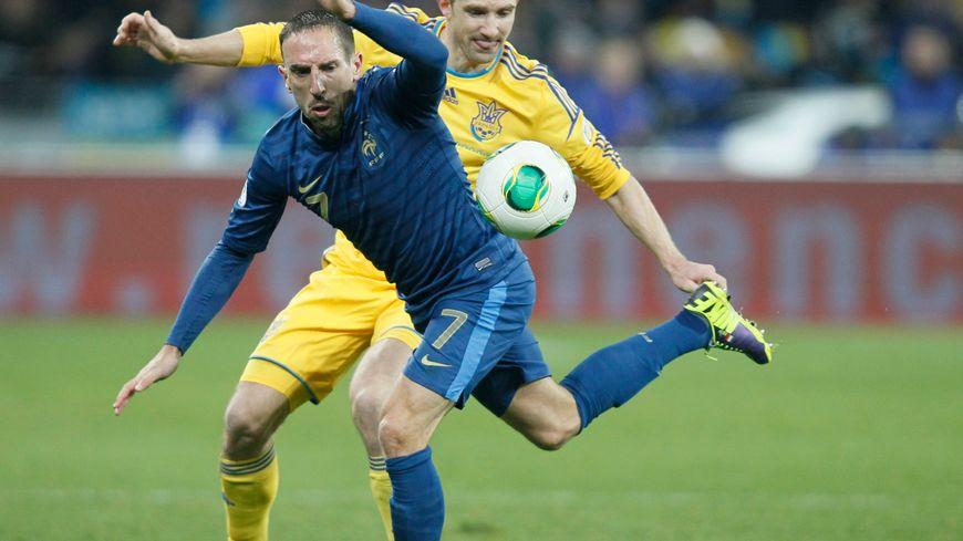 Franck Ribéry, le milieu de terrain de l'équipe de France