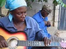 Guitare au Botswana